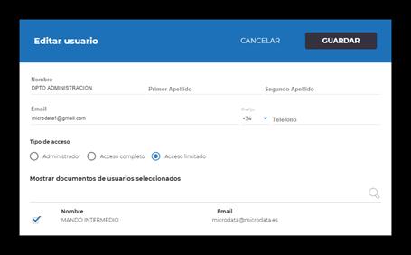 configuracion usuario firma electronica