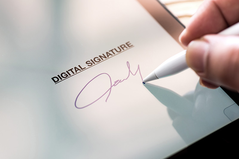 firma digital en el movil